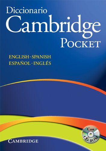 Diccionario Bilingue Cambridge Spanish-English Paperback with CD-ROM Pocket Edition (Pocket edition)
