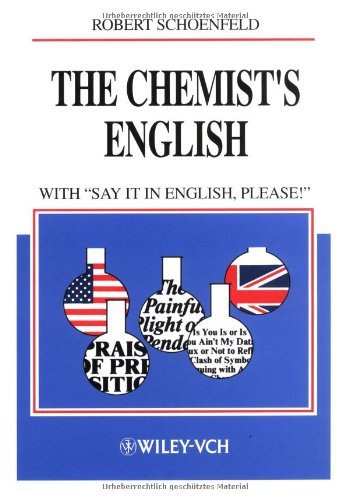 Chemists English : With Say It in English' Please!