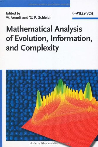 Mathematical Analysis of Evolution' Information and Complexity