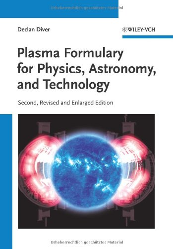 Plasma Formulary Physics Astronomy