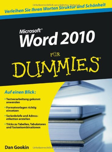 Word 2010 Fur Dummies