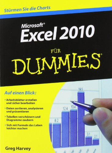 Excel 2010 Fur Dummies