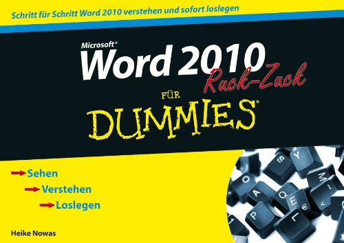 Word 2010 Fur Dummies Ruck-zuck