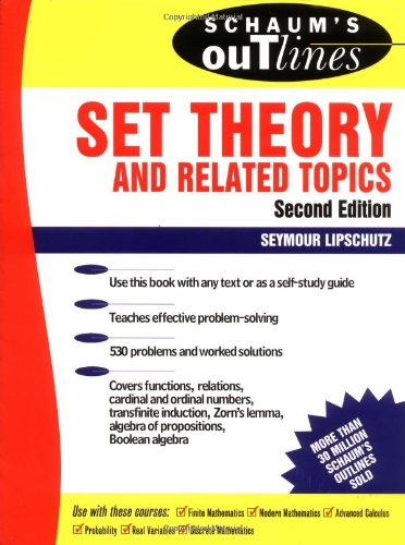 Schaum S Outline Of Set Theory And Related Topics