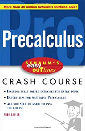 Schaum S Easy Outline Of Precalculus