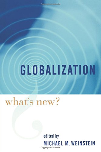 Globalization: Whats New?