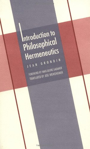 Introduction to Philosophical Hermeneutics (New edition)