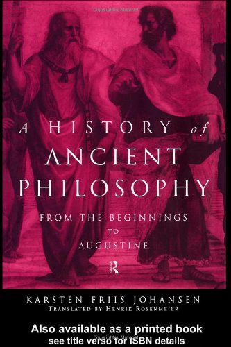 A History of Ancient Philosophy: From the Beginning to St. Augustine