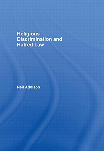 Religious Discrimination and Hatred Law