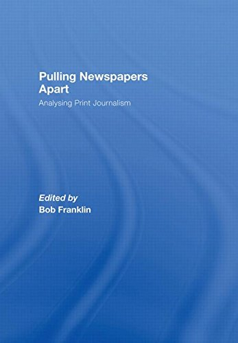 Pulling Newspapers Apart: Analysing Print Journalism