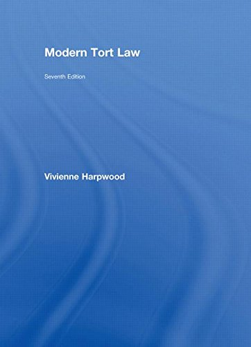Modern Tort Law (7th Revised edition)
