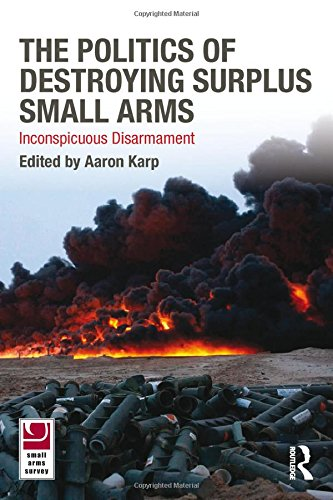 The Politics of Destroying Surplus Small Arms