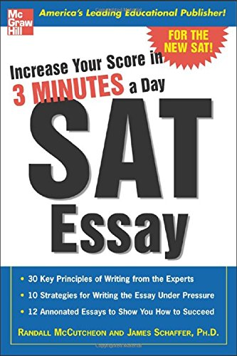 Increase Your Score In 3 Minutes A Day : Sat Essay