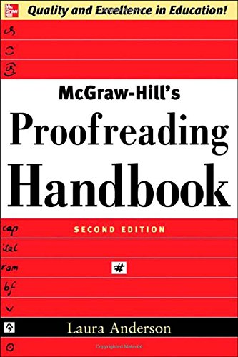 McGraw-Hills Proofreading Handbook (2nd Revised edition)