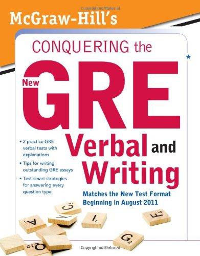 Mcgraw-Hills Conquering Gre Verbal And Writing