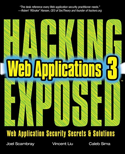 Hacking Exposed Web Applications: