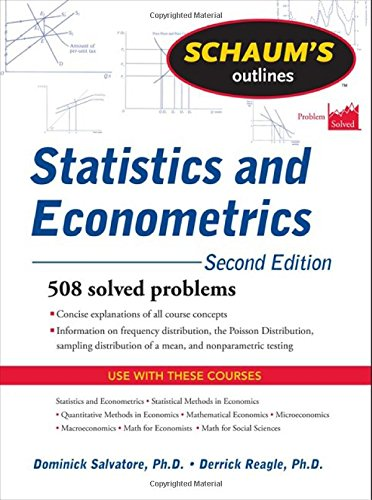 Schaum S Outline Of Statistics And Econometrics