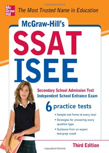 McGraw-Hills SSAT/ISEE (3rd Revised edition)