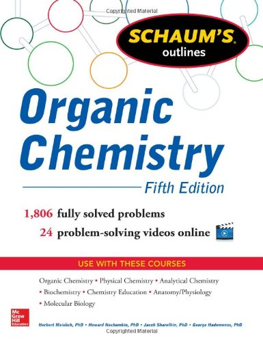 Schaums Outline Of Organic Chemistry