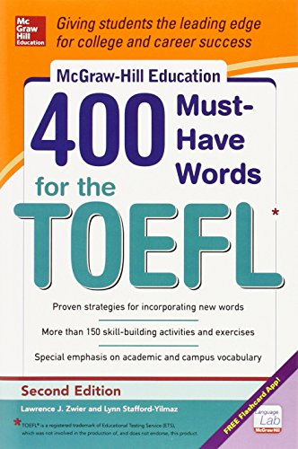 Mcgraw-hills 400 Must-have Words For The Toefl