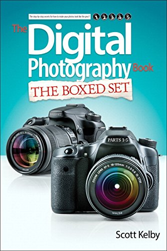 Scott Kelbys Digital Photography Boxed Set Parts 1 2 3 4 and 5