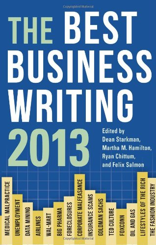 Best Business Writing 2013