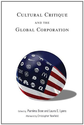 Cultural Critique and the Global Corporation