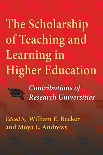 Scholarship of Teaching and Learning in Higher Education' The: Contributions of Research Universities