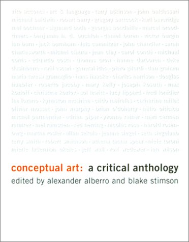 Conceptual Art: A Critical Anthology (New edition)