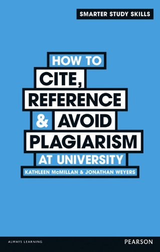 How to Cite' Reference & Avoid Plagiarism at University