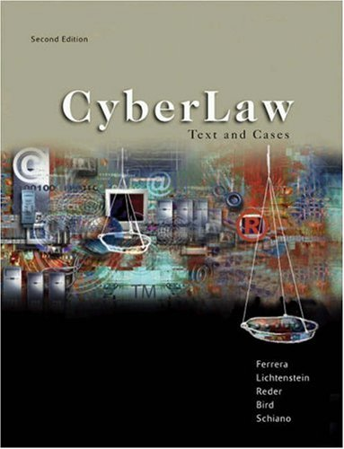 Cyberlaw Text and Cases (2nd Revised edition)