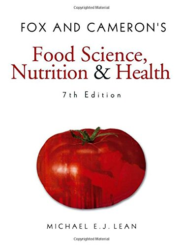 Fox and Camerons Food Science' Nutrition and Health (7th Revised edition)