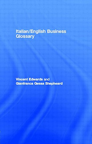 Italian/English Business Glossary (2nd)