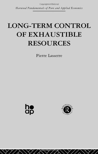 Long Term Control of Exhaustible Resources
