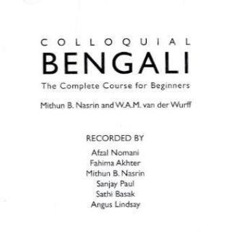 Colloquial Bengali (2nd Revised edition)