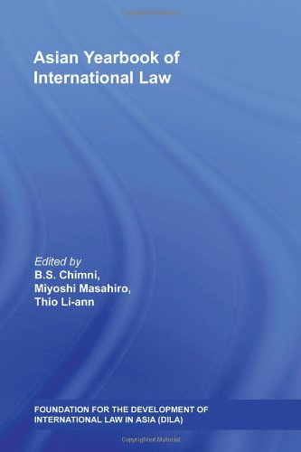 Asian Yearbook of International Law: Vol. 13