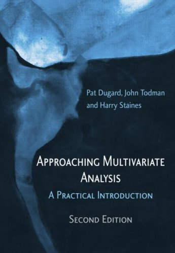 Approaching Multivariate Analysis