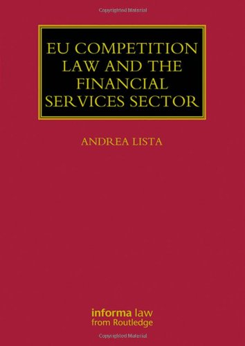Eu Competition Law The Financial Services Sector