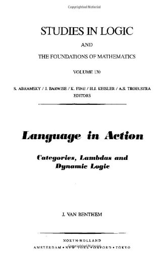 Language in Action: Categories' Lambdas and Dynamic Logic