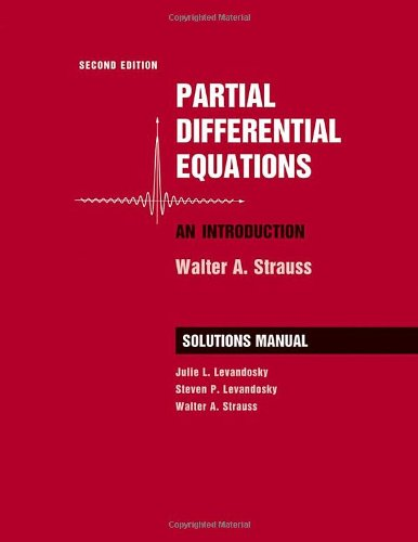 Partial Differential Equations: An Introduction: Student Solutions Manual (2nd Revised edition)