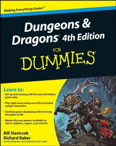 Dungeons and Dragons for Dummies (4th Revised edition)