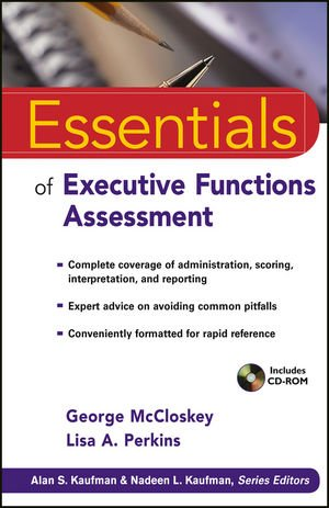 Essentials of Executive Function Assessment