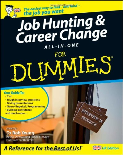 Job-Hunting and Career Change All-in-One For Dummies