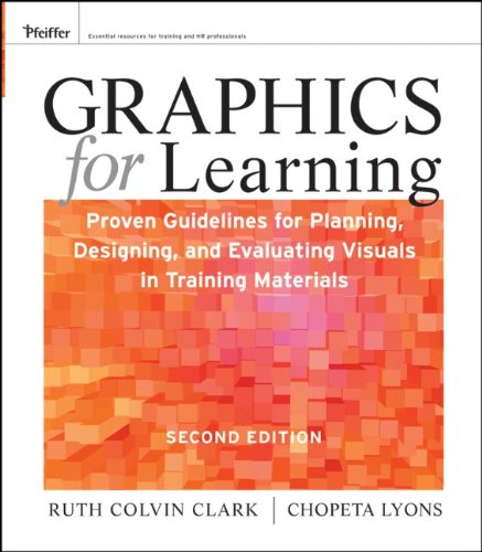 Graphics for Learning: Proven Guidelines for Planning' Designing' and Evaluating Visuals in Training Materials
