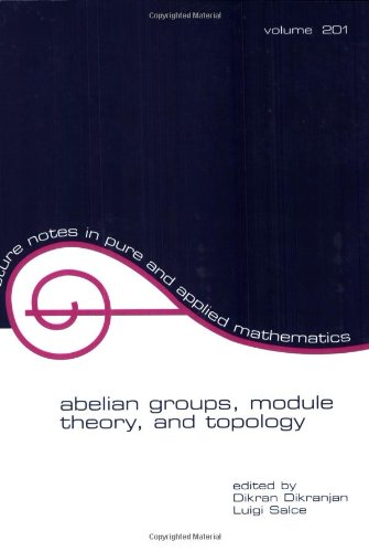 Abelian Groups' Module Theory and Topology