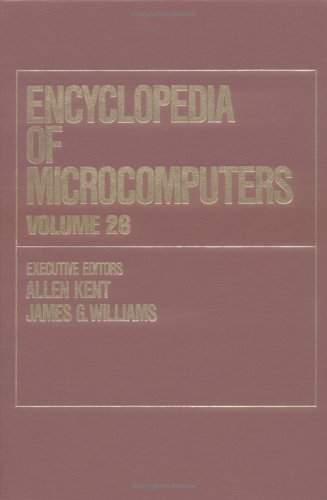 Encyclopaedia of Microcomputers: v.26: Supplement 5