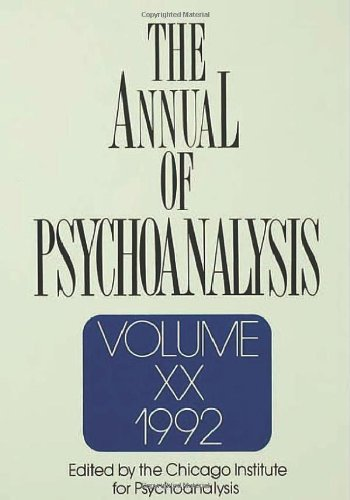 The Annual of Psychoanalysis: v. 20