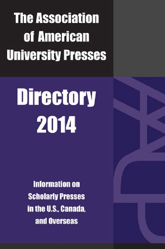 Association Of American University Presses Directory 2014