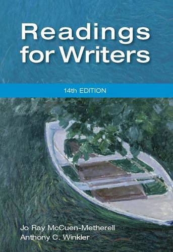 Readings for Writers (14th Revised edition)