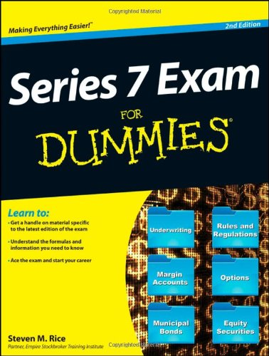 Series 7 Exam For Dummies (For Dummies